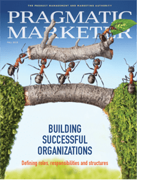manage by objective in pragmatic marketing magazine