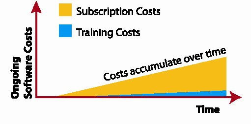 Figure 8. Ongoing SaaS costs
