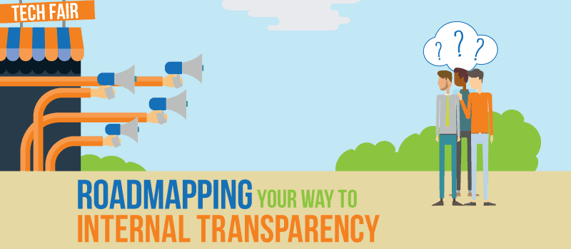 roadmapping your way to internal transparency