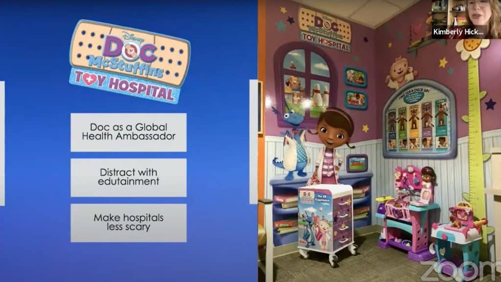 Disney Doc McStuffins Toy Hospital VR Experience - Pragmatic Institute Product Chat