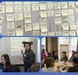 Disney Channel ideation activity led by Kimberly Hicks - Pragmatic Institute Product Chat