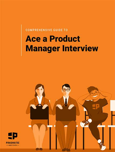 Ace a product manager interview ebook cover