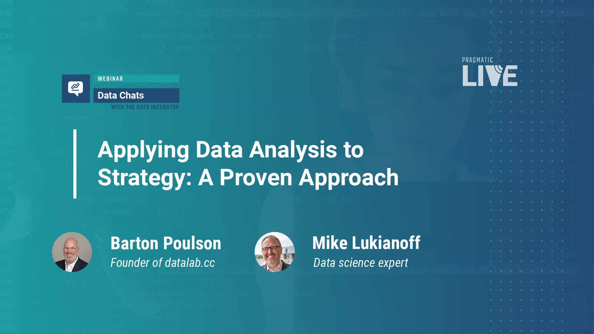 Applying Data Analysis to Strategy: A Proven Approach