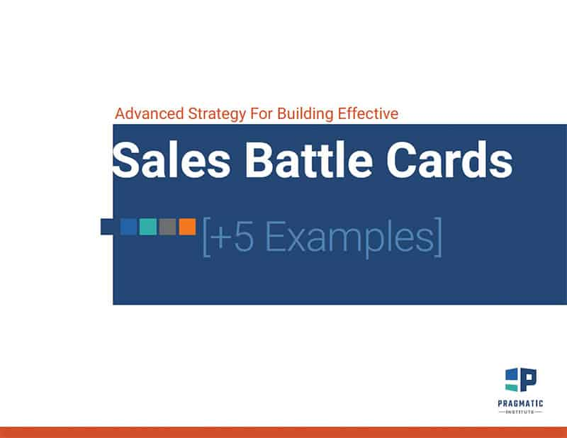 Sales Battle Cards Cover